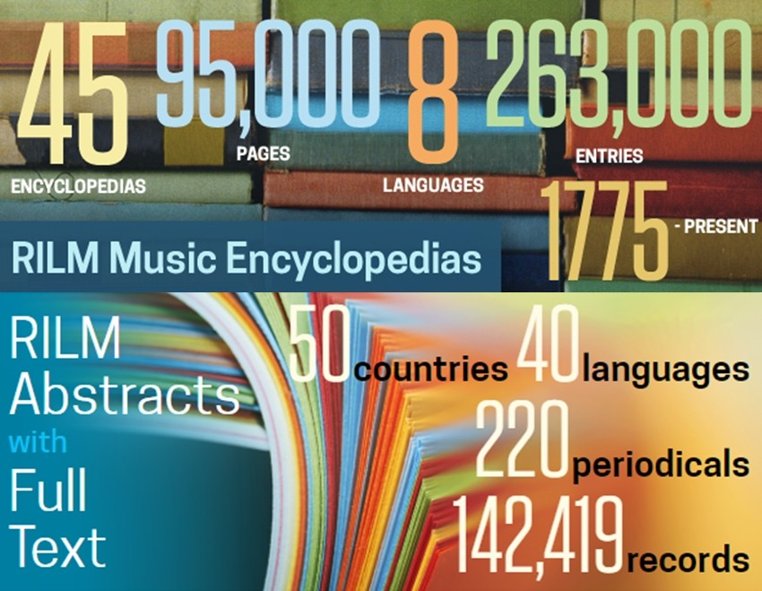 Временный доступ к музыкальным изданиям В дополнение к доступной читателям РГБ реферативно библиографической базе rilm abstracts of music literature временно в течение двух недель можно